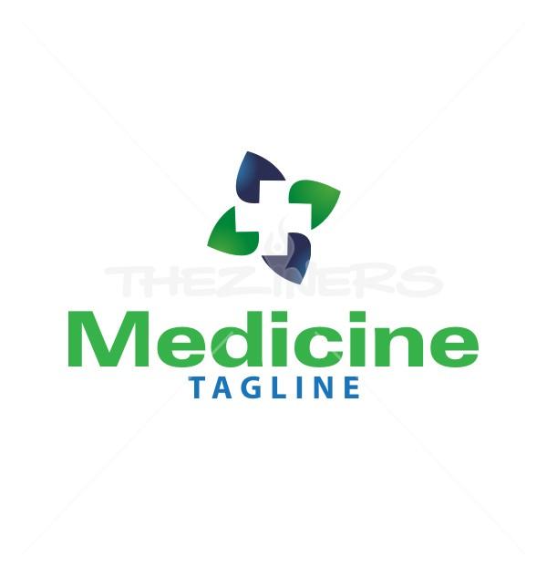 Medical Hospital Premade Solutions Logo Design