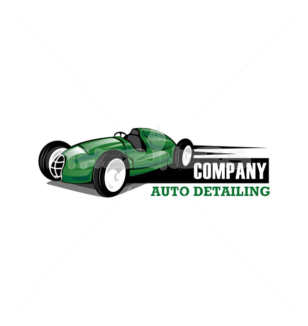 Racing Speedy Car Repair Maintenance Logo Template