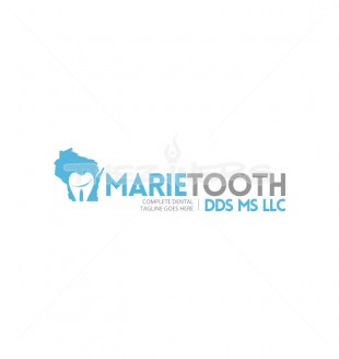 marie tooth creative medical logo design template
