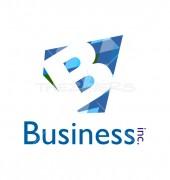 Letter B Vintage Vector Logo Template