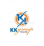 KK Cleaners Vector Logo Template