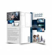 Networking Solutions Trifold Template