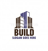 Real Estate Building Logo Symbol