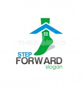 Step Forward Property solutions Logo Template