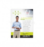 Chartered Accountants Flyer Design Template