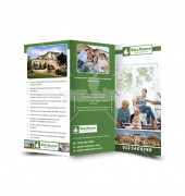 Real Estate Business Trifold Template
