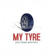 Car Tire Logo Template