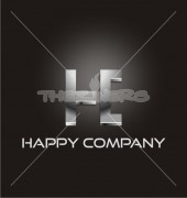 Happy Company Typography Logo Template