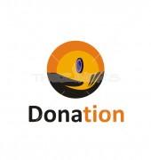 Donation Creative Help Non Profit Logo Template