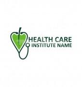 Heart Company Elegant Healthcare Solutions Logo Design