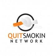 Quit Smoking Logo Template