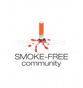 No Smoking Logo Template