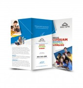 Education Business Trifold Template