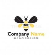 Vector Honey Bee Logo Template