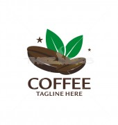 Coffee Seed Logo Template
