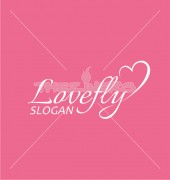 Love Fly Logo Template