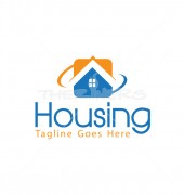 Real Estate Property Affordable Housing Logo Design