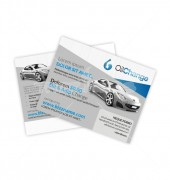 Automotive Postcard Template