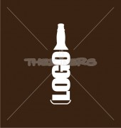 Bottle Company Creative Product Logo Template