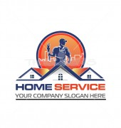 Home Services Premade Logo Vector