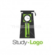 Time Management Study Logo Template