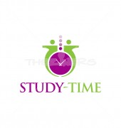 Study-Time Logo Template