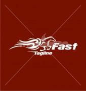 Horse Racing Premade Logo Design