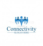 Be Connected Global Community Logo Template