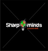 Sharp Minds Manufacturing Premade Logo Design
