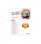 Online Media Flyer Template Entertainment Design