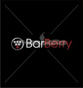 Bar Berry Abstract Logo Template
