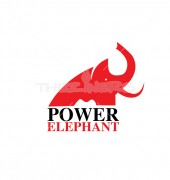 Power Elephant Logo Template