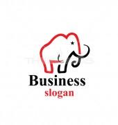 Elephant Of Liberty Logo Template
