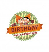 Kids Party & Event Logo Template