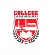 College Study Logo Vector
