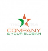 Star Company Abstract Product Logo Template