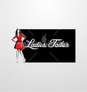 Ladies Tailor Premade Creative Product Logo Symbol