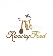 Runway Healthy Food Shop Logo Template