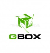 Green Box Global Services  Logo Template