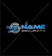 Abstract Digital Lock Logo Vector