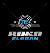 RS Electronic Company Abstract Repair Logo Template