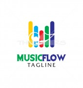Musical Instrument Logo Template