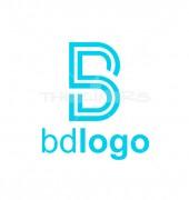 Letter B D Elegant Logo Template