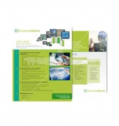 Corporate Business Templates Modern Back and Front Flyer