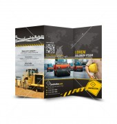 KLB Construction Trifold Template