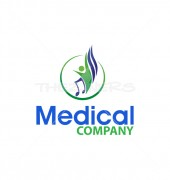Healthy Life Premade Health Care Logo Design