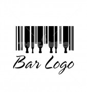 Bar Fast Food Restaurant Logo Template