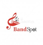 Brass Artistic Musical Logo Template