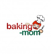 Baking Mom Fast Food Restaurant Logo Template