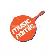Sound Music Recording Media Logo Template